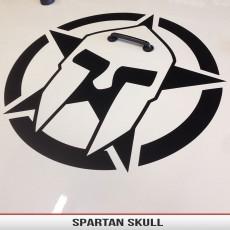 Spartan Skull Star