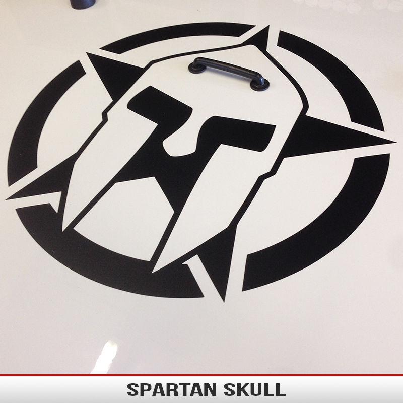 Spartan Skull Star Alphavinyl