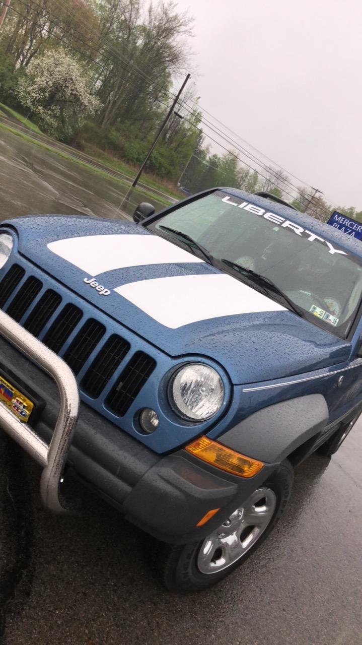 Jeep-liberty-hood-blackout-double-stripe-anti-glare-vinyl-sticker