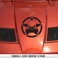 8″ Universal Gas Mask Star