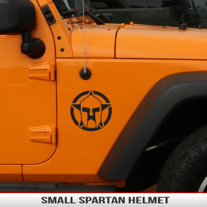 Spartan_gladiator_star_trojan_helmet_small_fender_decal_jeep_wrangler_cherokee