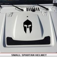 Spartan Gladiator Trojan Helmet Small Fender Hood Decal Jeep Wrangler Cherokee