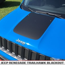 Jeep Renegade Hood Blackout