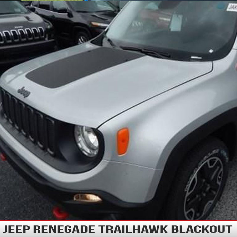 Jeep Renegade Hood Blackout Alphavinyl