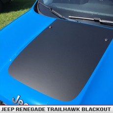 Jeep Renegade Trailhawk Hood Blackout Stickers