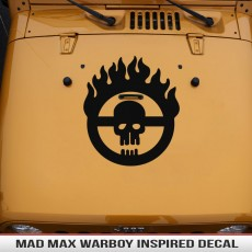 MADMAX Inspired Hood Decal