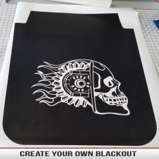 Custom Hood Blackout