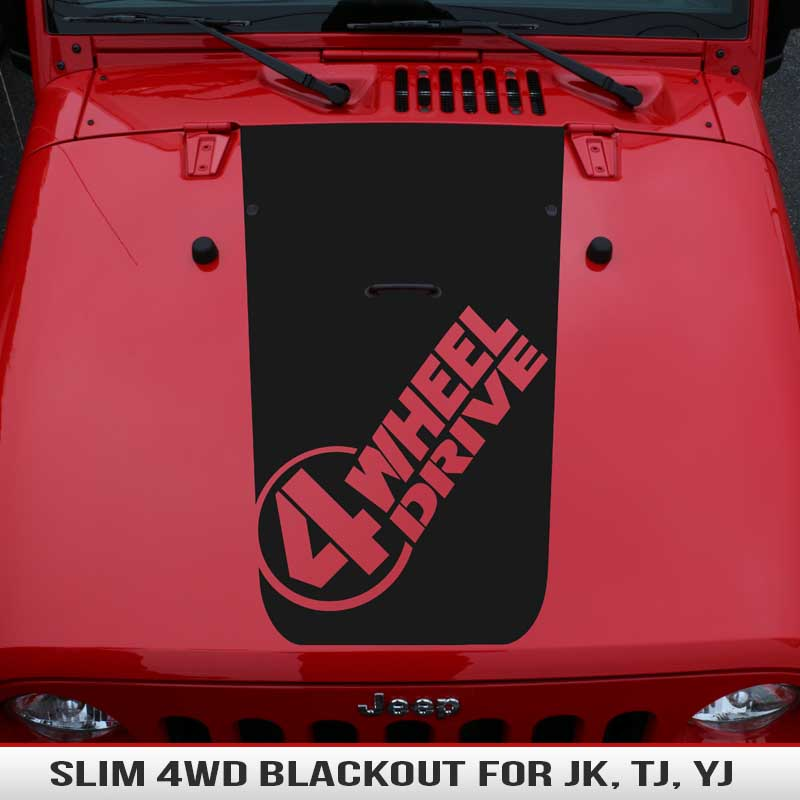 slim-4-wheel-drive-jeep-hood-blackouts-racing-stripe-decal-vinyl