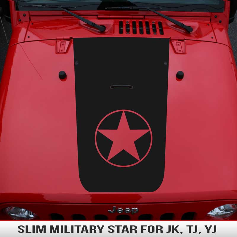 slim-military-star-jeep-wrangler-hood-jk-tj-yj-blackouts-decal-vinyl