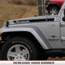 Renegade Hood Decal