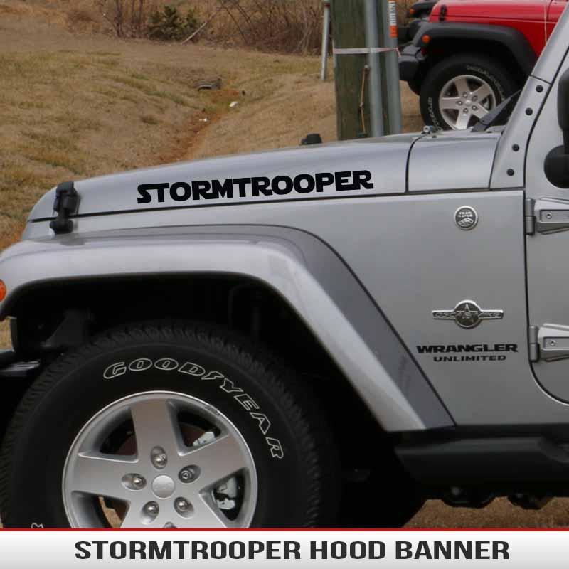 Gulf Coast Toyota >> StarWars Stormtrooper Hood Decal | AlphaVinyl