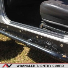 Wrangler TJ Inside Door Sills Entry Guard