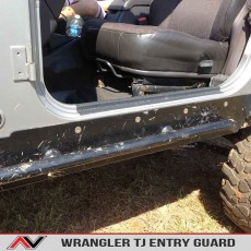 Jeep Wrangler Tj Entry Guard Protective Sills Rubber Coating