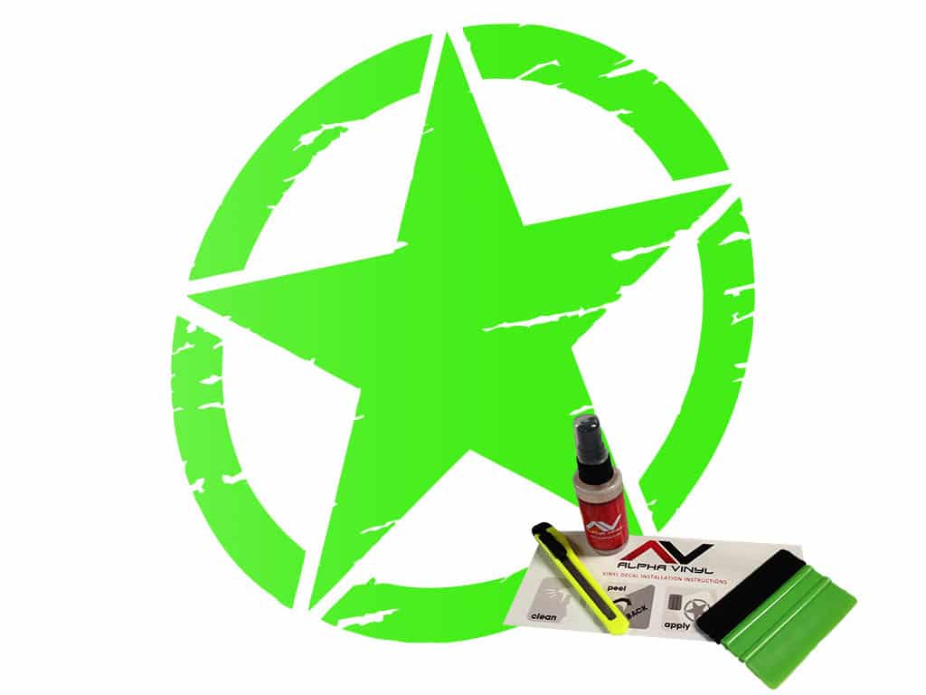 Freedom-star-military-star-distressed-lime-green