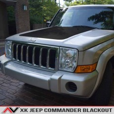 Jeep Commander XK Hood Blackout