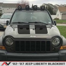 Jeep Liberty KJ Blackout 02-07
