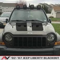 Jeep Liberty KJ Blackout 02-07