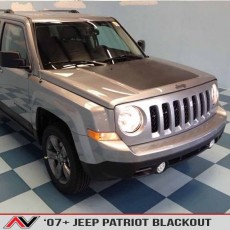 Jeep Patriot Hood Blackout 2007+