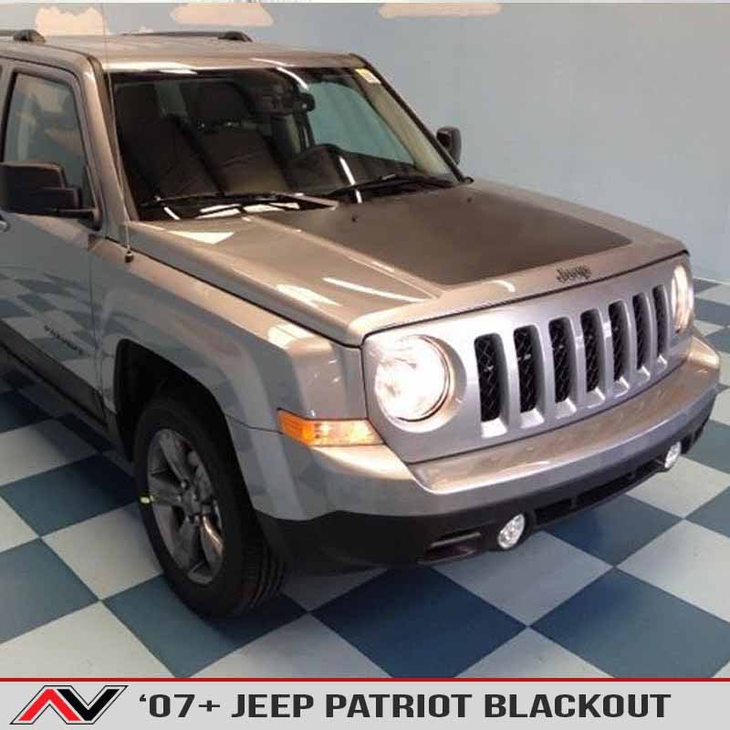 Jeep Patriot Hood Blackout 2007 Alphavinyl