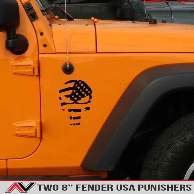jeep-waiving-USA-punisher-flag-distressed-flag-jeep-decals