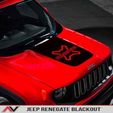 Jeep Renegade Custom Blackout