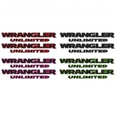 Wrangler Unlimited Jeep Fender Decal Side Oem Decal