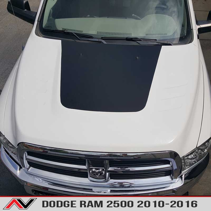 Dodge ram 2500 10 16 blackout alphavinyl