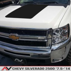 Chevy Silverado 2500 Hood Blackout '07.5-'14