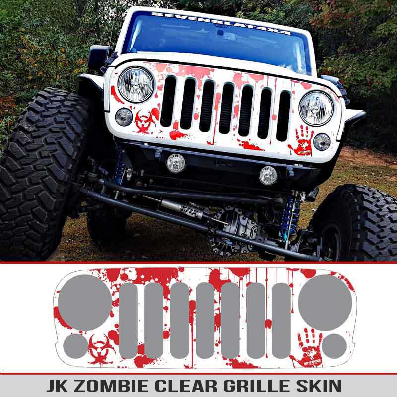 jk-wrangler-zombie-blood-splatter-grille-skin-decal-clear