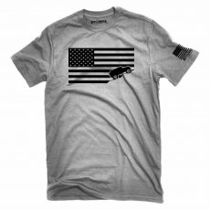 American USA Flag Jeep Tee Shirt
