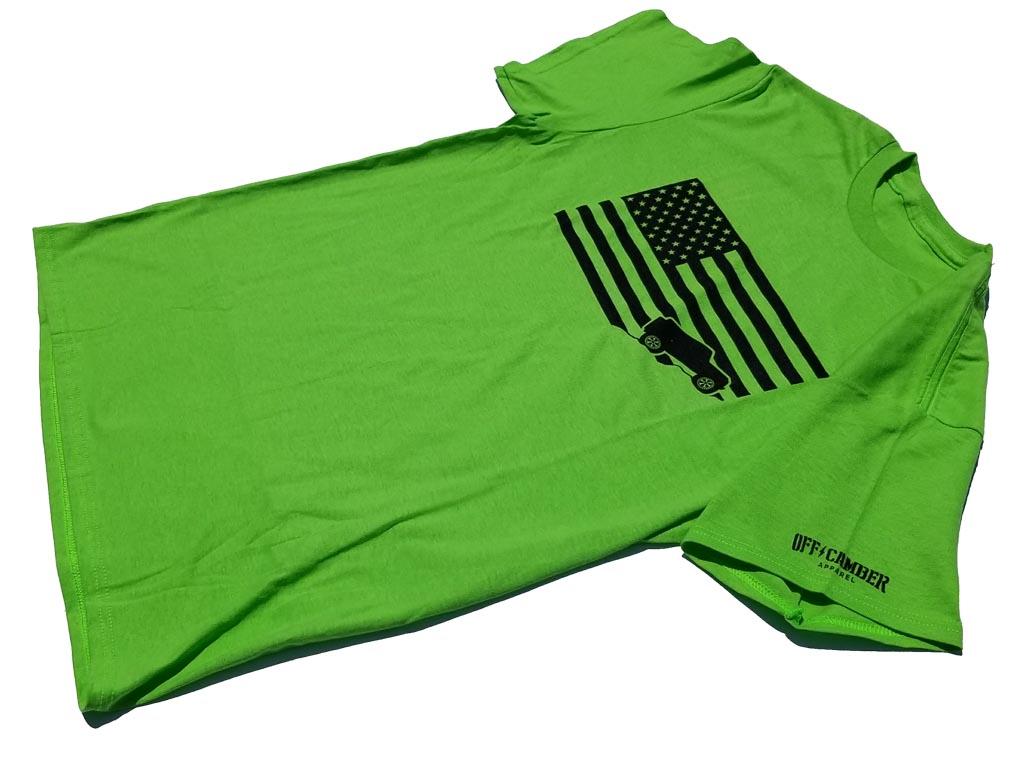 Jeep-USA-flag-lime-green-tee-shirt-jeep-shirt1