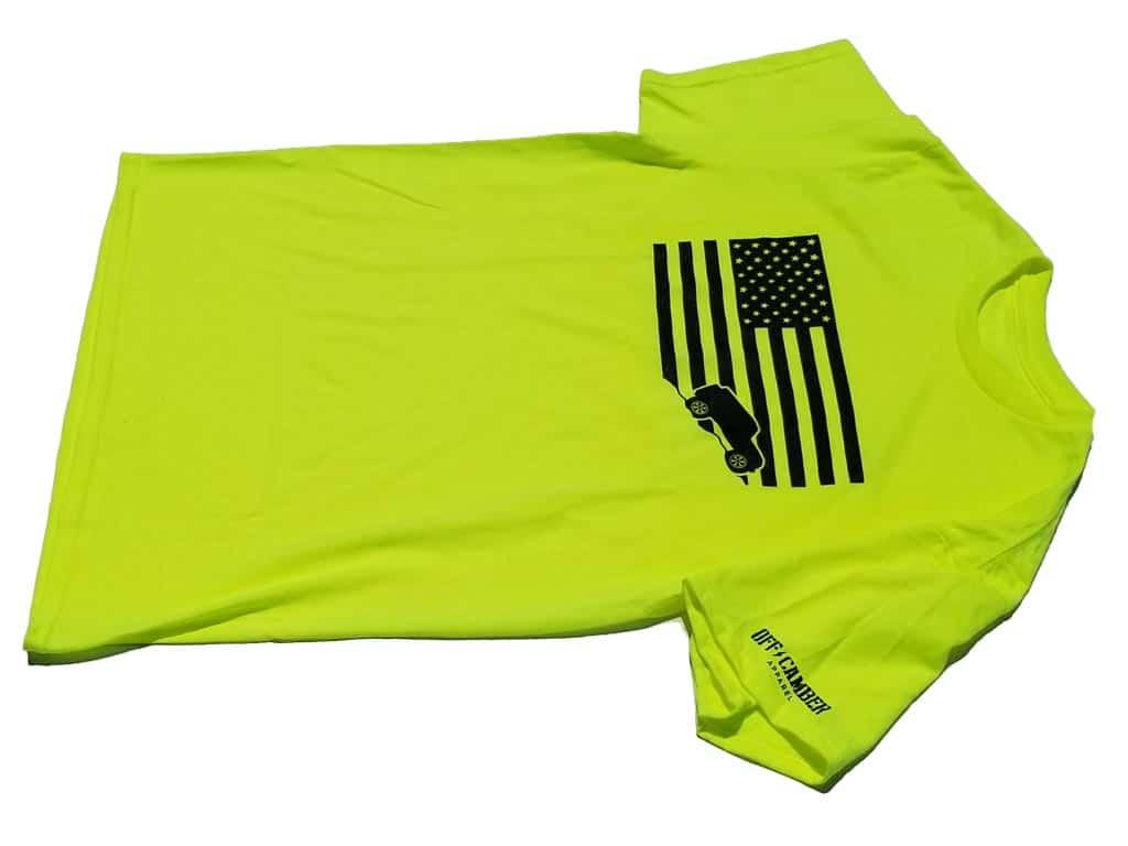 Jeep-USA-flag-lime-yellow-tee-shirt-jeep-shirt1