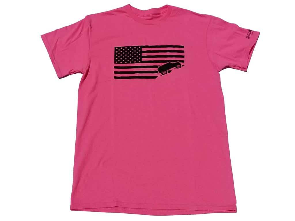 Jeep-USA-flag-pink-girl-tee-shirt
