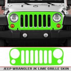 Lime Jeep Wrangler Jk Grille Skin Breastcancer Awareness Girl Jeep Decal