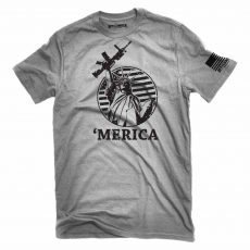 Lady Liberty Rifle Tee