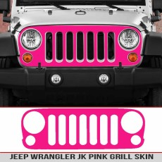 Jeep JK Grille Multi Color & Carbon Fiber