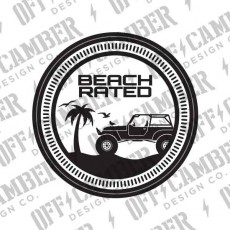 Beach Rated Badge (2-pack)