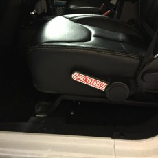 Jeep Wrangler Sticker Pull To Eject Handle Decal