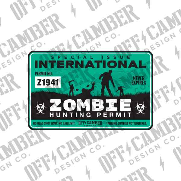 zombie-hunting-permit-decal-jeep-windshield-sticker