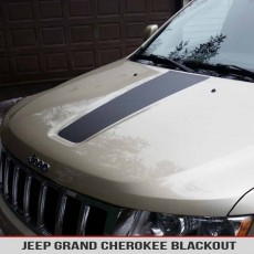 Jeep Grand Cherokee WK2 11-17 Hood Blackout