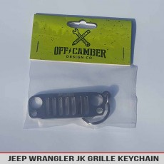 Jeep Wrangler Jk Keychain Grille Stainless Steel Usa Offcamber