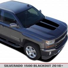 Chevy Silverado 1500 16-17 Hood Blackout