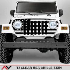 Jeep Wrangler TJ Grille Skin USA