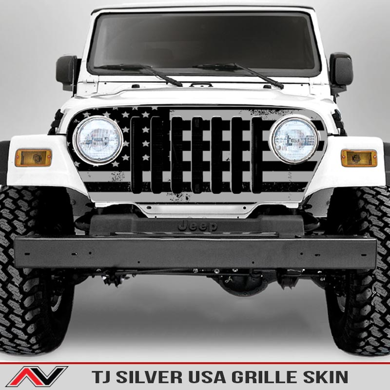 Jeep-wrangler-grille-skins-usa-wrangler-tj-distressed-decal-silver-decal1