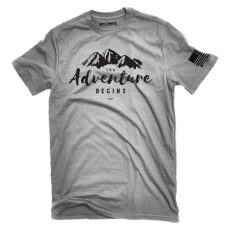 The Adventure Begins Jeep Tee