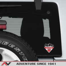 Adventure Since 1941 Jeep Decal Off Road Adventure REI Offroad Sticker