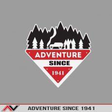 ADventure Since 1941 Bumper/Toolbox Decal