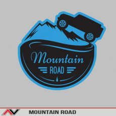 Mountain Road Bumper/Toolbox Decal