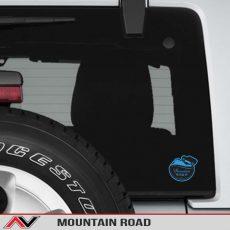Mountain Road Jeep Decal Sticker Bumper Sticker1