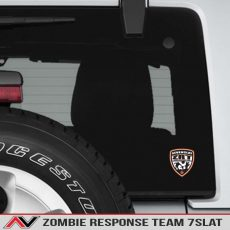 Seven Slat Zombie Response Team Decal